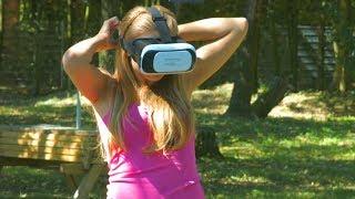 "auvisio PEARL Virtual-Reality-Brille 3D für Smartphones (3,5"" - 6,0"")"