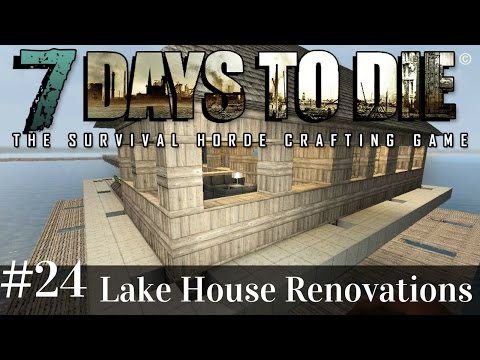 7 Days To Die | EXPERIMENTAL - Lake House Horde Test | 7 Days to Die