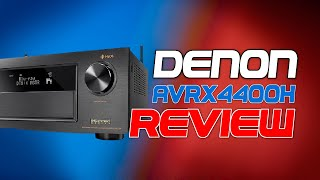 Denon AVRX4400H 1 year FULL REVIEW | 7.2.4 SETUP | Home Theater DEMO