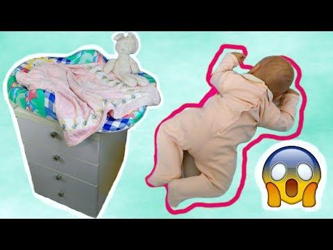 Bambola Reborn Cade dal Fasciatoio