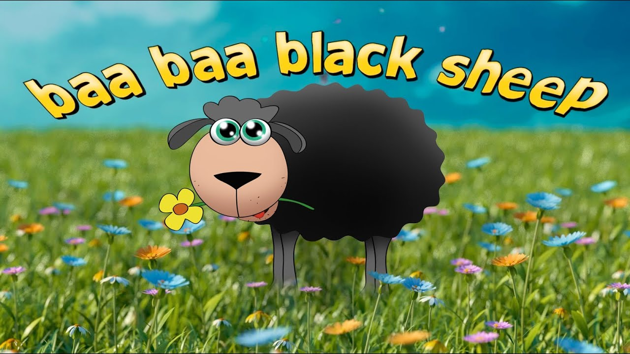The Best Baa Baa Black Sheep Song | Mini Monsters Music