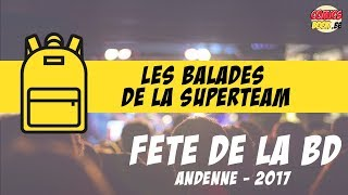 Souvenirs de la Fête de la BD 2017