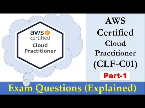 AWS Certified Cloud Practitioner - Real Exam Questions Explained ...
