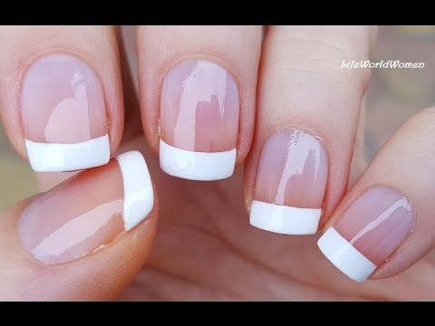 Download 5 Ways To Make FRENCH MANICURE NAIL ART / DIY Ideas HD Mp4 3GP Video and MP3
