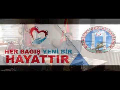 Malazgirt Devlet Hastanesi organ bağışı farkındalık videosu
