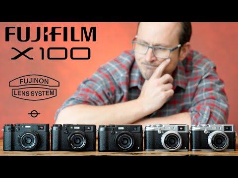 Fujifilm X100 - every model compared