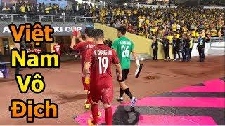 Thử Thách Bóng Đá ăn mừng cùng Quang Hải , Duy Mạnh , Công Phượng ĐT Việt Nam VS Malaysia sau trận