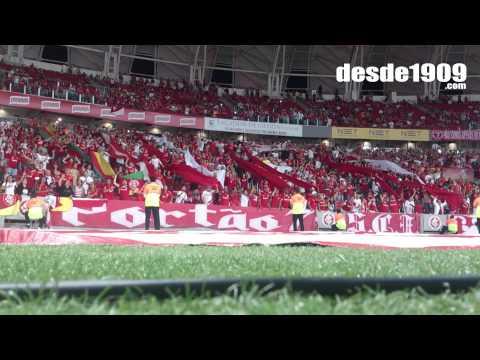 """Vs Fluminense  - BR15 - Tema da vitoria"" Barra: Guarda Popular • Club: Internacional"