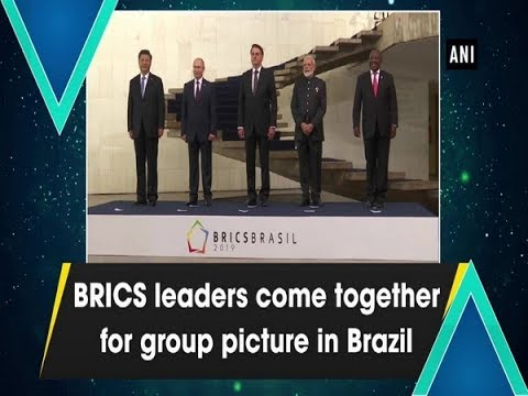 BRICS leaders come together for group picture in Brazil
