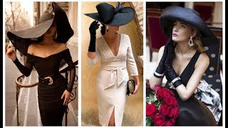 BEAUTIFUL OUTFITS SUPER FASHION WITH WIDE HAT🌸LINDOS OUTFITS SUPER FASHION CON SOMBRERO ALA ANCHA