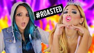 Niki and Gabi ROASTED! Roast Yourself Challenge!