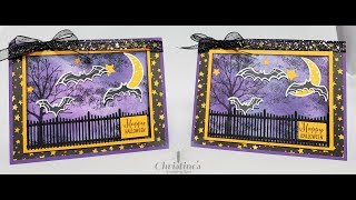 Stampin' Up Spooky Sweets Halloween Card
