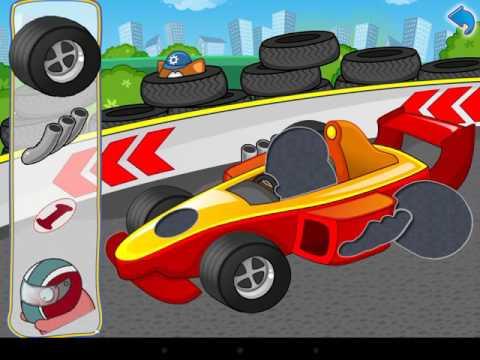 Машинки.Собираем гоночную машинку/Mashinki.Sobiraem racing machine