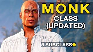 Monk Class Mod Showcase UPDATED
