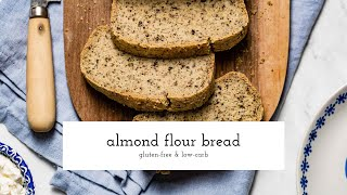 keto diet almond flour bread recipe