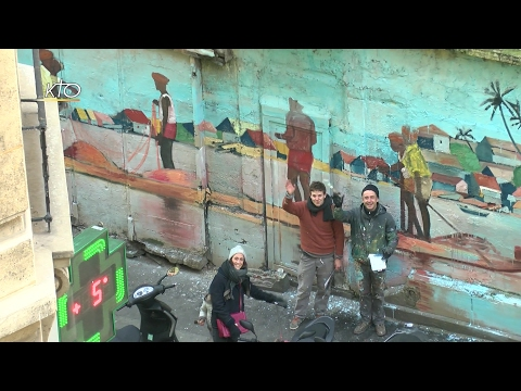 Toqué Frères, street artistes
