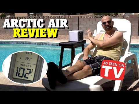 Arctic Air Review: Personal Space Cooler *As Seen on TV*
