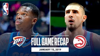 Full Game Recap: Thunder vs Hawks | Young & Len Record Double-Doubles