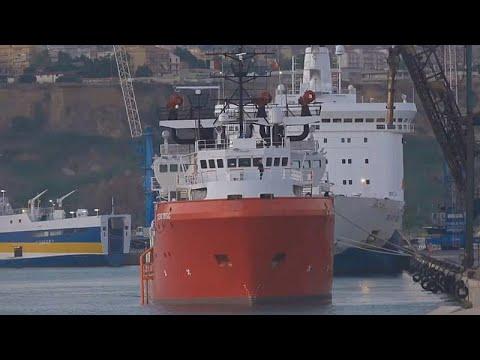 Ιταλία: Σε καραντίνα δύο εβδομάδων οι μετανάστες του Ocean Viking…