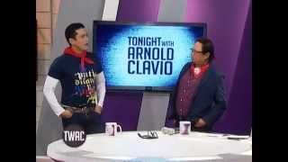 Robin Padilla teaches Igan how to move like an action star | Tonight with Arnold Clavio