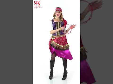 disfraz de Gitana o Zíngara para aadulta