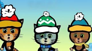 Развивающие и обучающие мультики: Три котенка - Дразниться - не, не, не! / теремок песенки для детей