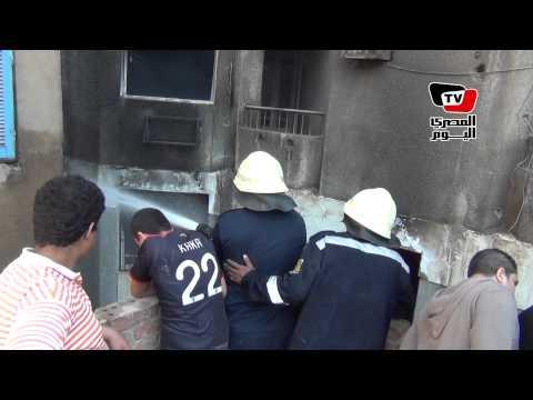 «الدفاع المدني» تسيطر على حريق عقار بمنطقة عين شمس