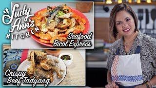 [Judy Ann's Kitchen 13] Ep 4 : Seafood Bicol Express, Crispy Beef Tadyang | Pinoy Favorites