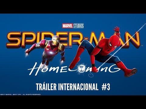 "Tercer tráiler en español de ""Spider-Man: Homecoming"""