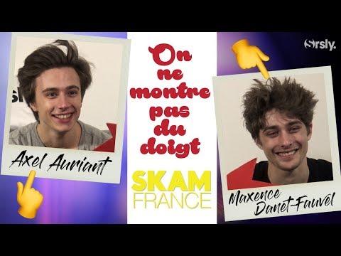 SKAM France : Interview BFF de Axel Auriant et Maxence Danet-Fauvel