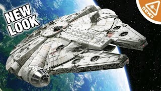 What the Millennium Falcon's New Look Means for Star Wars! (Nerdist News w/ Jessica Chobot)