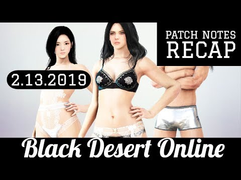 Black Desert Online [BDO] Patch Notes Recap: New Bosses Drop DUO Accessories
