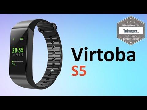 Virtoba S5 Bracelet connecté IP67 Hi Move Fitness tracker smartwatch