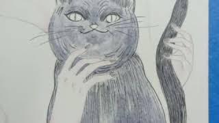 Cómo dibujar un gato | Tutorial para dibujar | aprendiendo a dibujar