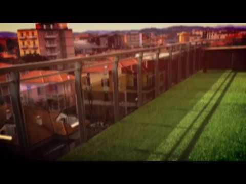Erba sintetica nelle terrazze