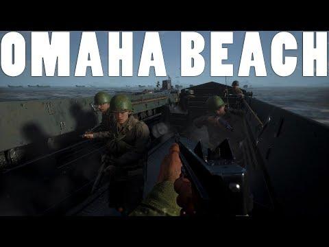 REALISTIC OMAHA BEACH BATTLE - Hell Let Loose