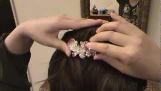 Hair Comb Tutorial Stella Hair Accessories