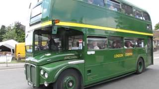 preview picture of video 'Potters Bar Bus Garage Open Day 2013'