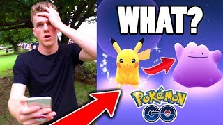 Download Youtube: IT TURNED INTO DITTO?!? ($100 Pokemon Go Challenge)