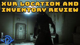 Where is Xur? August 28th, 2020 | Destiny 2 Exotic Vendor Location & Inventory!