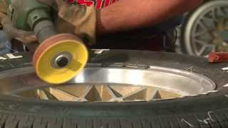 How To Polish And Buff Aluminum Wheels To Chrome Mirror Finish