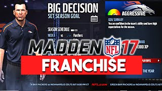 Madden 17 News | Franchise Features: Big Decisions, Play The Moment, Gameplan, More