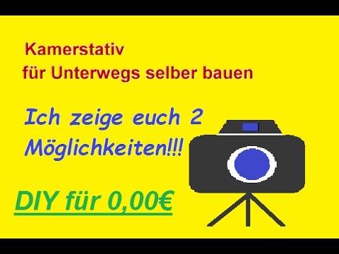 Geniales Kamerastativ selber bauen – Kamerahalterung selbst machen / DIY Stativ / Kamera Zubehör