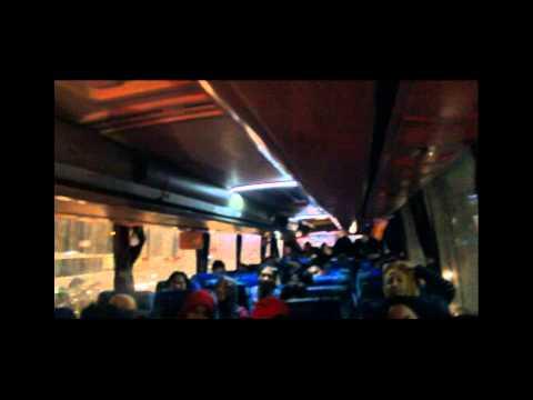 Hendy Buah Batu Pariwisata (mb Oh 1626) Vs Bus Raya (hino Rkz) Di Jalur Pantura Subang - Cirebon