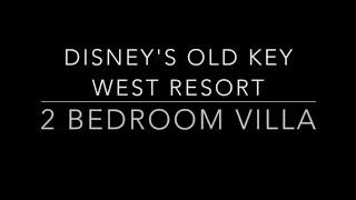 Disney's Old Key West 2 Bedroom Villa