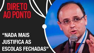 É um massacre educacional o que estamos fazendo no Brasil, afirma Sec. de Educação de SP