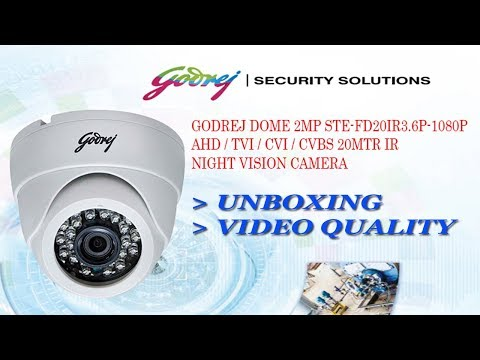 Godrej 2MP IR Dome Camera