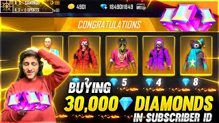 Gifting 15,000 Diamonds Dj Alok & Got 90% Off In Mystrey Shop In Subscriber Id - Garena Free Fire
