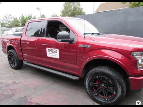 2016 FORD F150 RIDING ON 20 INCH OFF ROAD RIMS & TIRES TUFF T01