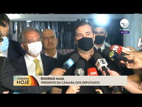 Maia defende regulamentação do teto de gastos e pede união para aprovar reformas - 05/10/20